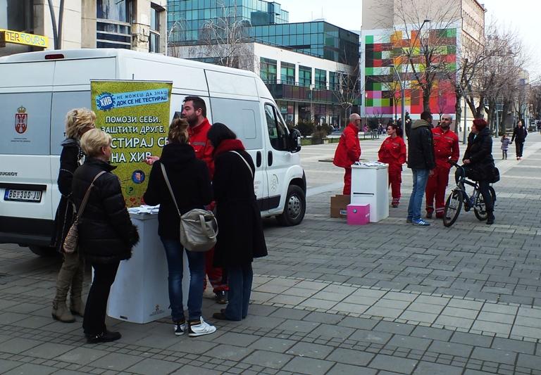 Akcija testiranja na HIV u Šapcu
